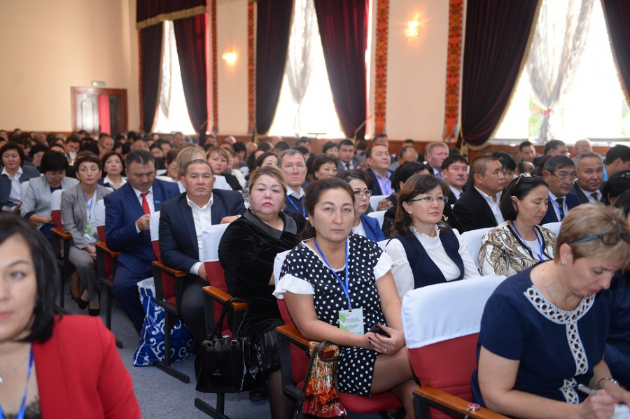 "Conduction of the I Regional Forum ""Zhanaru Zharshysy"" in Shymkent"